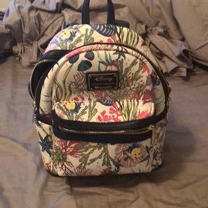 Handbags - Little mermaid loungefly backpack